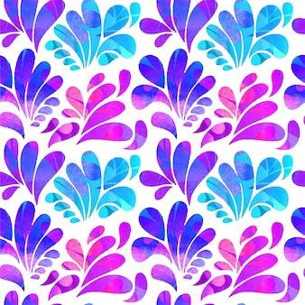 Аннотация дуга опускается в фиолетовых и синих тонах