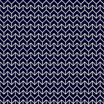 Abstract arrow pattern background vector illustration