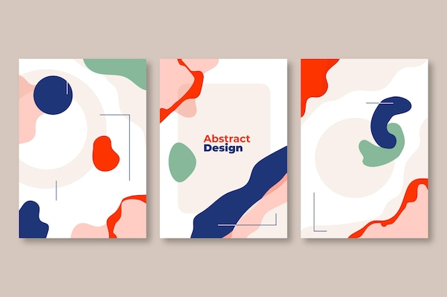 Коллекция обложек абстрактного искусства