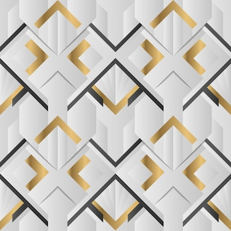 Abstract art deco geometric pattern