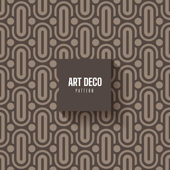 Abstract art deco pattern