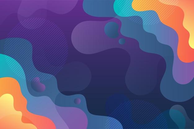 抽象芸術波ベクトル背景