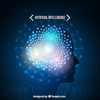 Artificial intelligence vectors photos and psd files free download abstract artificial intelligence template toneelgroepblik Gallery