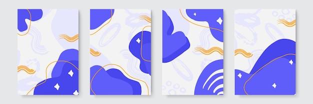 トレンディな手描きのテクスチャ、スポット、ブラシストロークで抽象的な芸術的なパターン。抽象的な自然な自由奔放に生きるベージュの創造的な普遍的な芸術的なテンプレート。