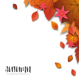 An abstract autumn background