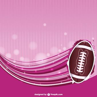Абстрактный фон американский футбол