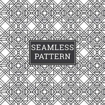 Abstract background art deco seamless pattern