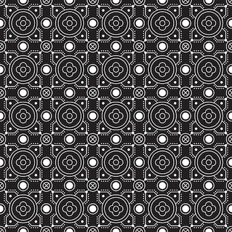 Abstract background. batik seamless pattern wallpaper. fabric textile . classic motif