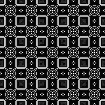 추상적 인 배경. 바틱 원활한 패턴 벽지. 직물 섬유. 클래식 모티브