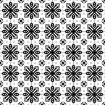 抽象的な背景。バティックのシームレスなパターンの壁紙。ファブリックテキスタイル。クラシックモチーフ