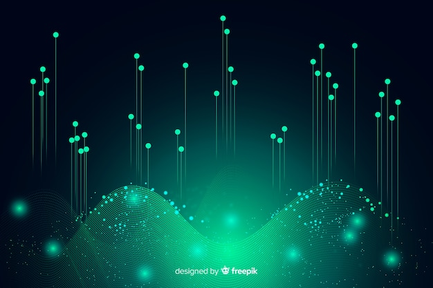 Abstract background big data concept