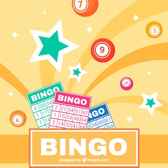 Abstract background of bingo ballots
