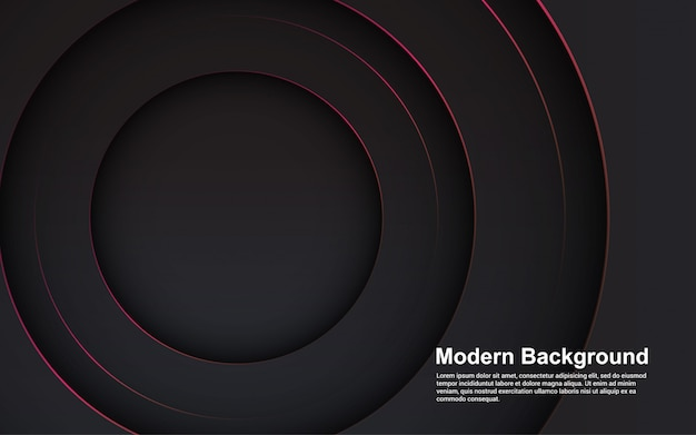 Abstract background black color modern concept