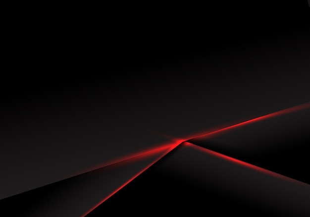 Abstract background black metallic red light