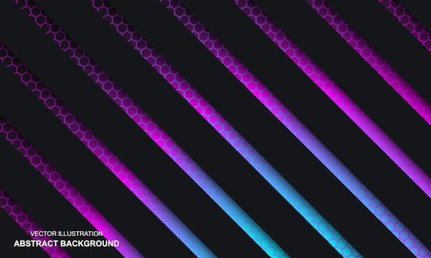 다채로운 추상적인 배경 블랙