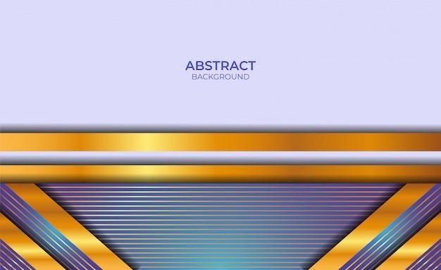 Абстрактный фон синий и золотой