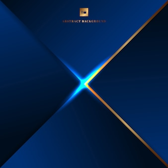 Abstract background blue geometric triangles