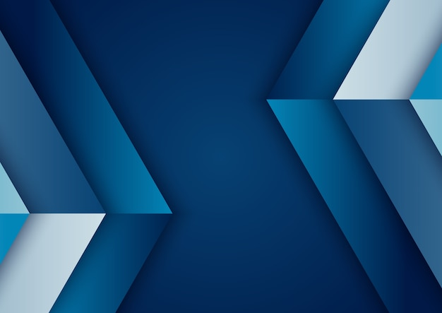 Abstract background blue gradient geometric