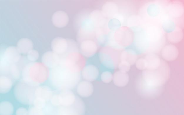 Абстрактный фон боке в пастельных тонах