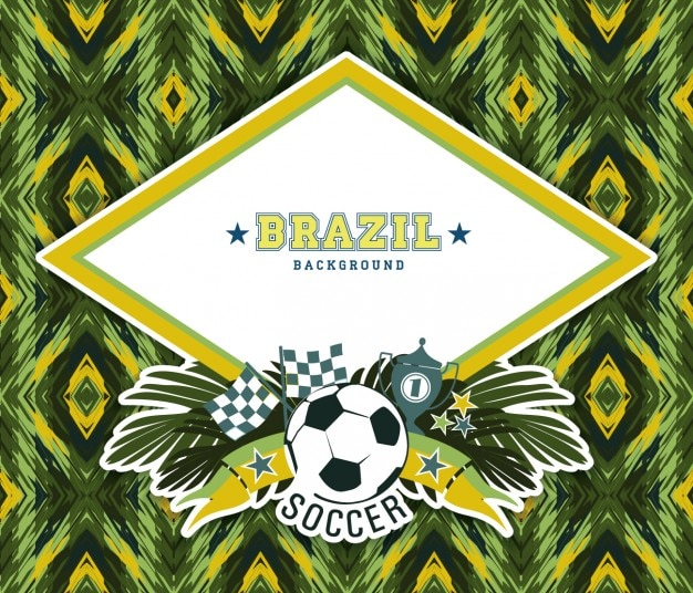 Abstract background of brazil