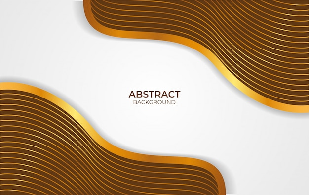 Abstract background brown and gold