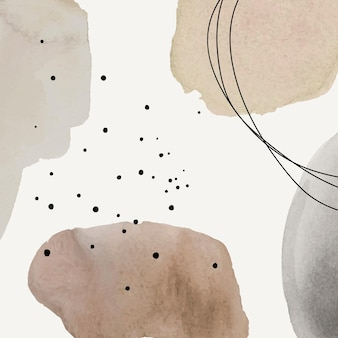 Abstract background in brown watercolor