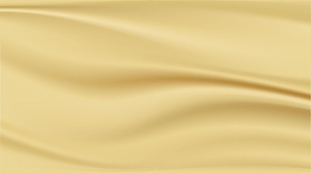 Abstract background clean luxury cloth or wavy folds of gold fabric texture background.