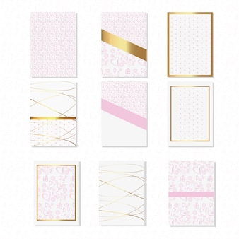 Abstract background collection