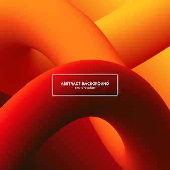 Abstract background, color gradient shapes