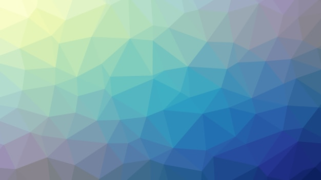 Abstract background colorful blue polygon triangle diamonds