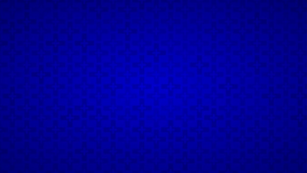 Abstract background of crosses in shades of blue colors