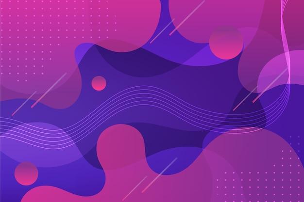 Абстрактный фон кривых и точек