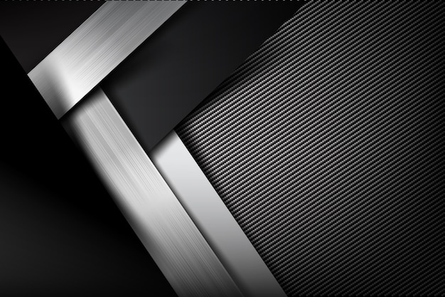 Abstract background dark and black carbon fiber