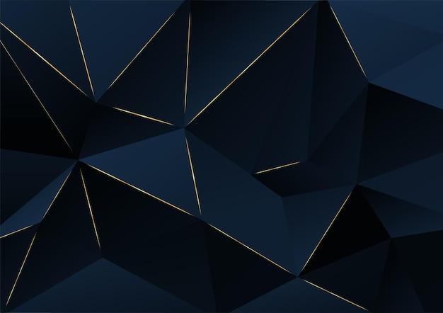 추상적인 배경입니다. 진한 파란색 레이어 기하학적 그림입니다. 브로셔, 배너, 포스터 디자인 템플릿입니다. 벡터 일러스트 레이 션.
