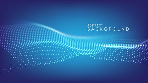 モダンな企業コンセプトの抽象的な背景ダークブルー。ベクトルイラスト