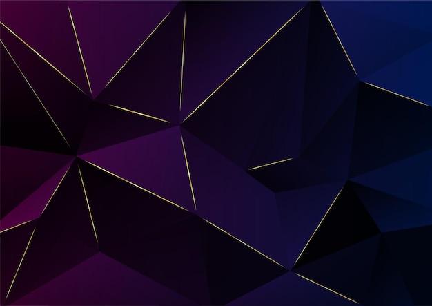抽象的な背景。ダークパープルレイヤーの幾何学的なイラスト。パンフレット、バナー、ポスターのデザインテンプレート。ベクトルイラスト。