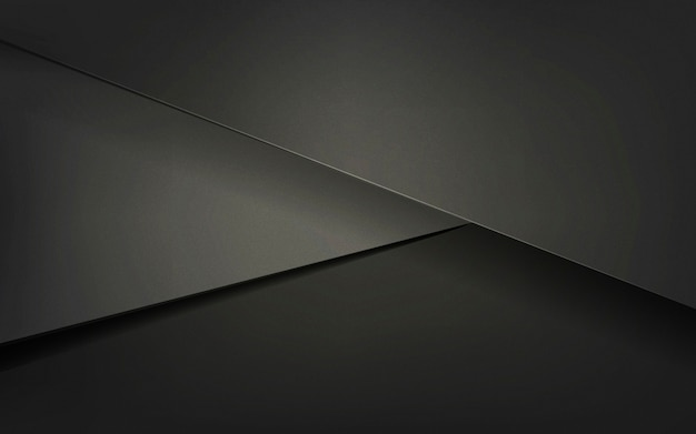 Abstract background design in black