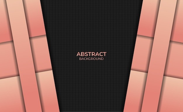 Abstract background design gradient orange color style