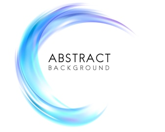 Abstract background design in blue