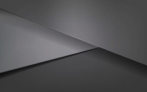 Абстрактный дизайн фона в темно-сером Бесплатные векторы