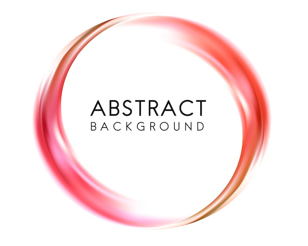 Abstract background design in red
