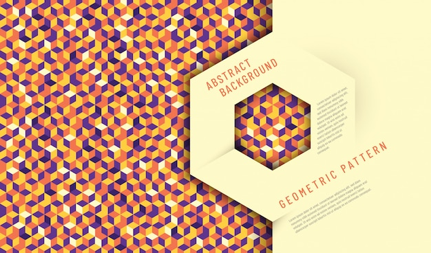 Abstract background design with geometric texture.