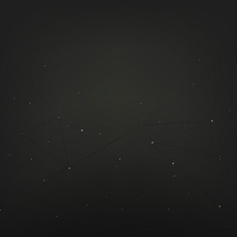 Abstract background design with stars on black