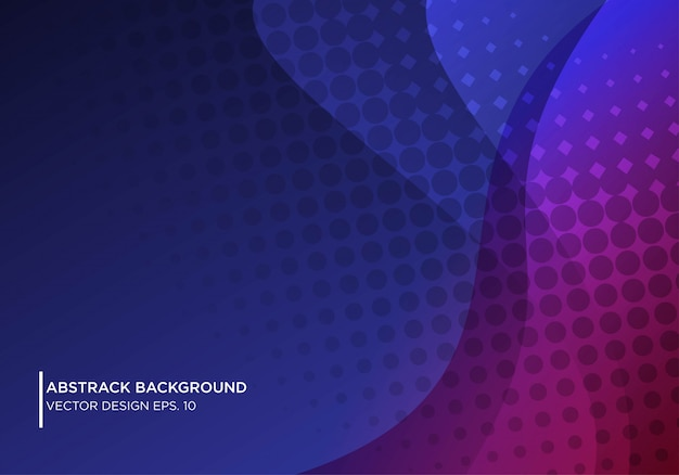 Abstract background design with waving shape