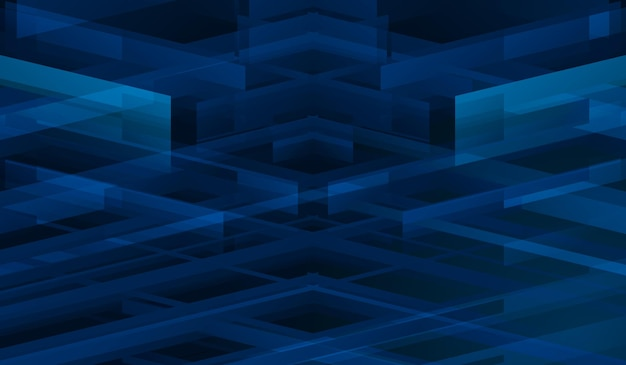 Abstract background dynamic geometric shapes banner template modern style