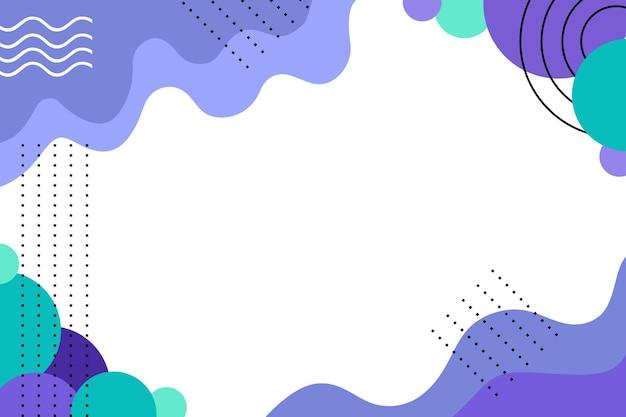 Абстрактный фон плоский минималистский цвет
