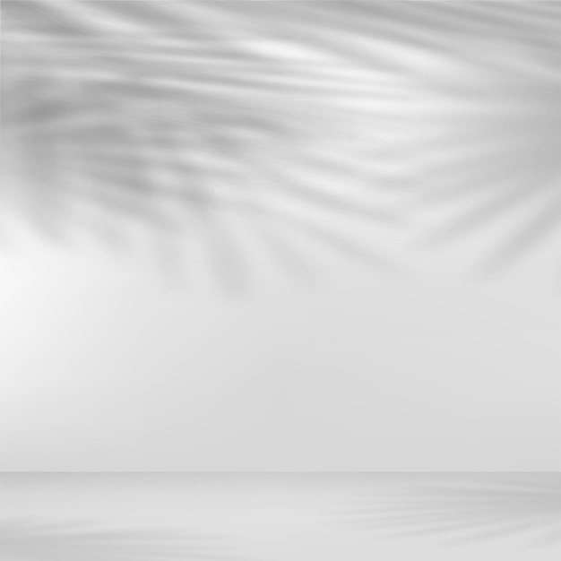 葉の影でプレゼンテーションの抽象的な背景。ベクトルイラスト