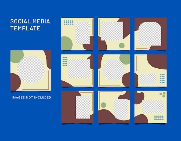 Абстрактный фон для публикации в социальных сетях