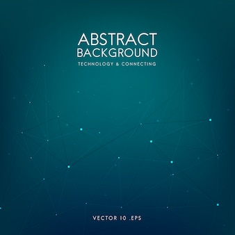 Abstract background for technology in blue