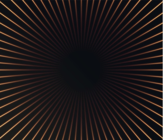 Abstract background from golden vertical lines speed technology background